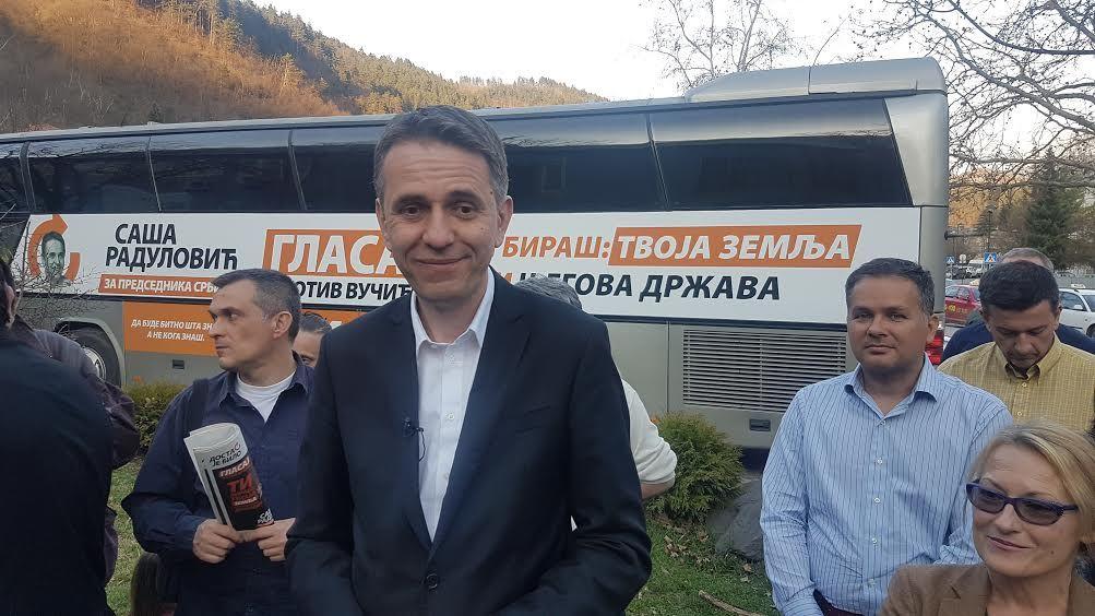 Саша Радуловић у Пријепољу
