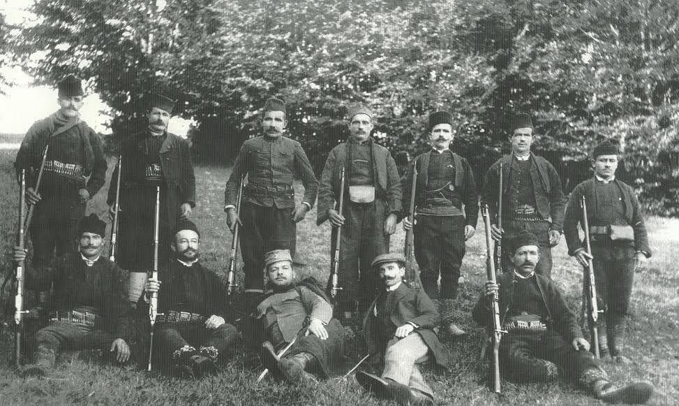 Скуп народних првака пет срезова  на Јавору 1912. године