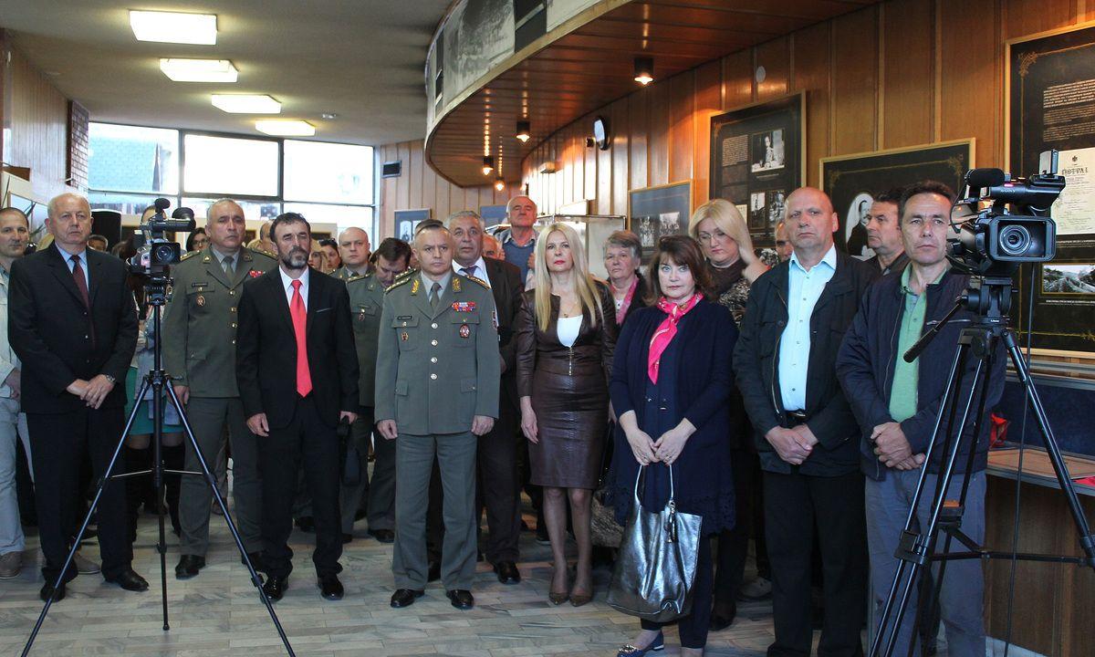 Гости и посетиоци на отварању изложбе