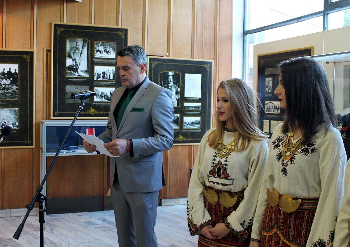 Изложбу је отворио председник СО Никола Јелић
