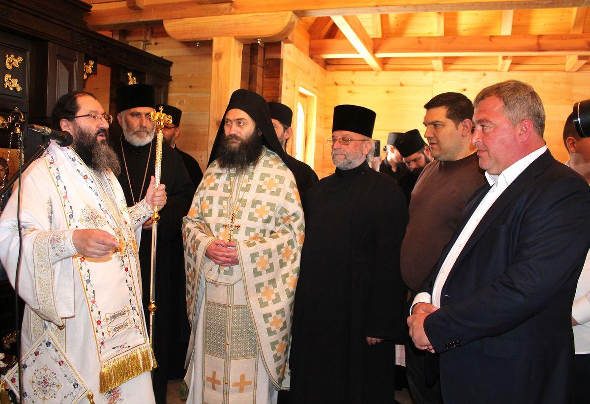 Литургију су служили владика Јустин и игуман Хиландара Методије