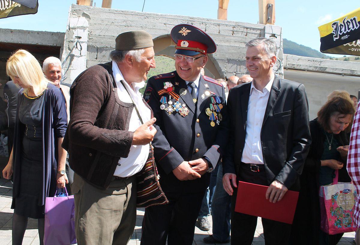 Међу гостима Милан Стаматовић, председник Општине Чајетина и представник Руског центра у Нишу