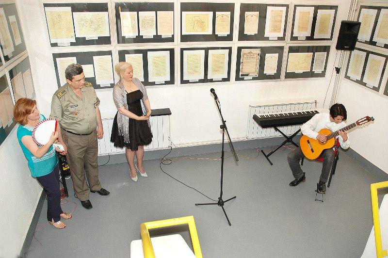 Отварање изложбе, фото: Међуопштински историјски архив