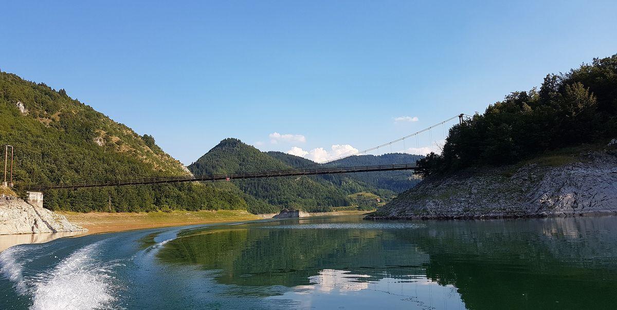 Атракција – мост на Пуљцима, дуг 114 метара (Фото: Р. Јаковљевић)