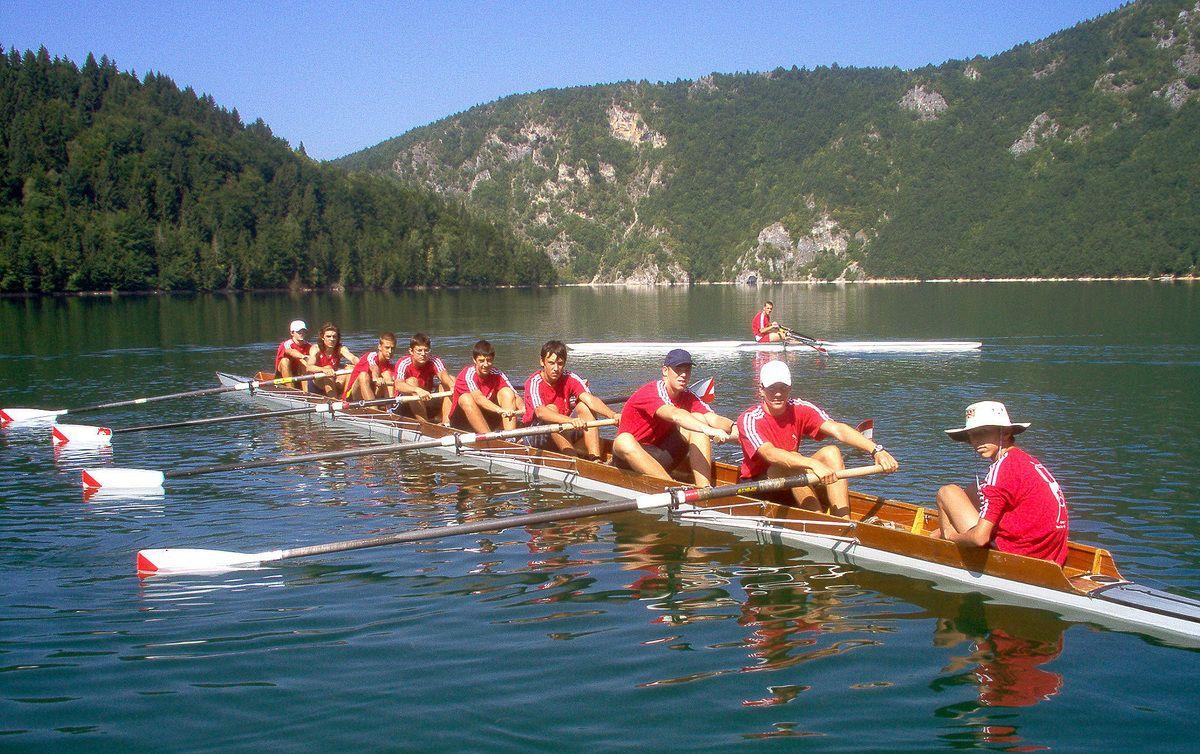Овде су се, између Синца и Криводола, припремали веслачи