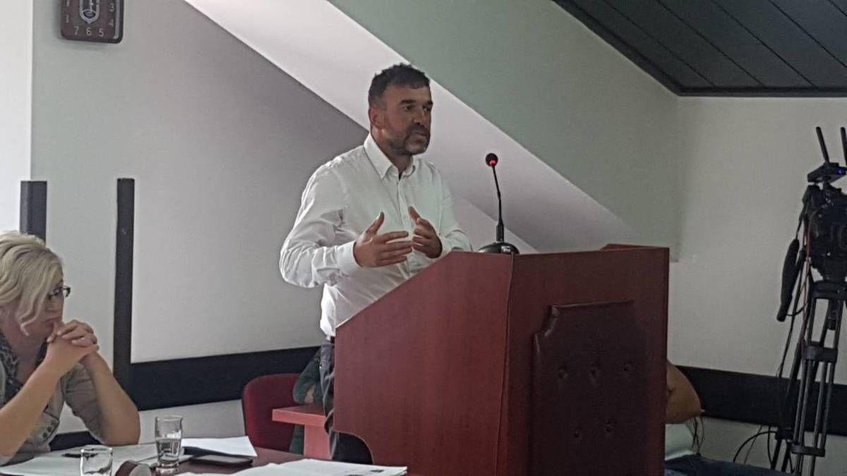 Славиша Пурић, смењени потпредседник општине  Нова Варош