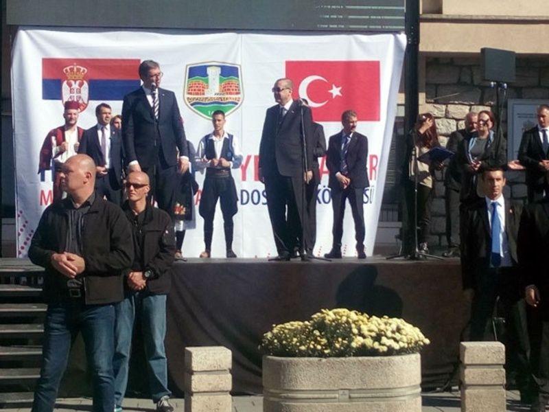 Vučić i Erdogan u Novom Pazaru