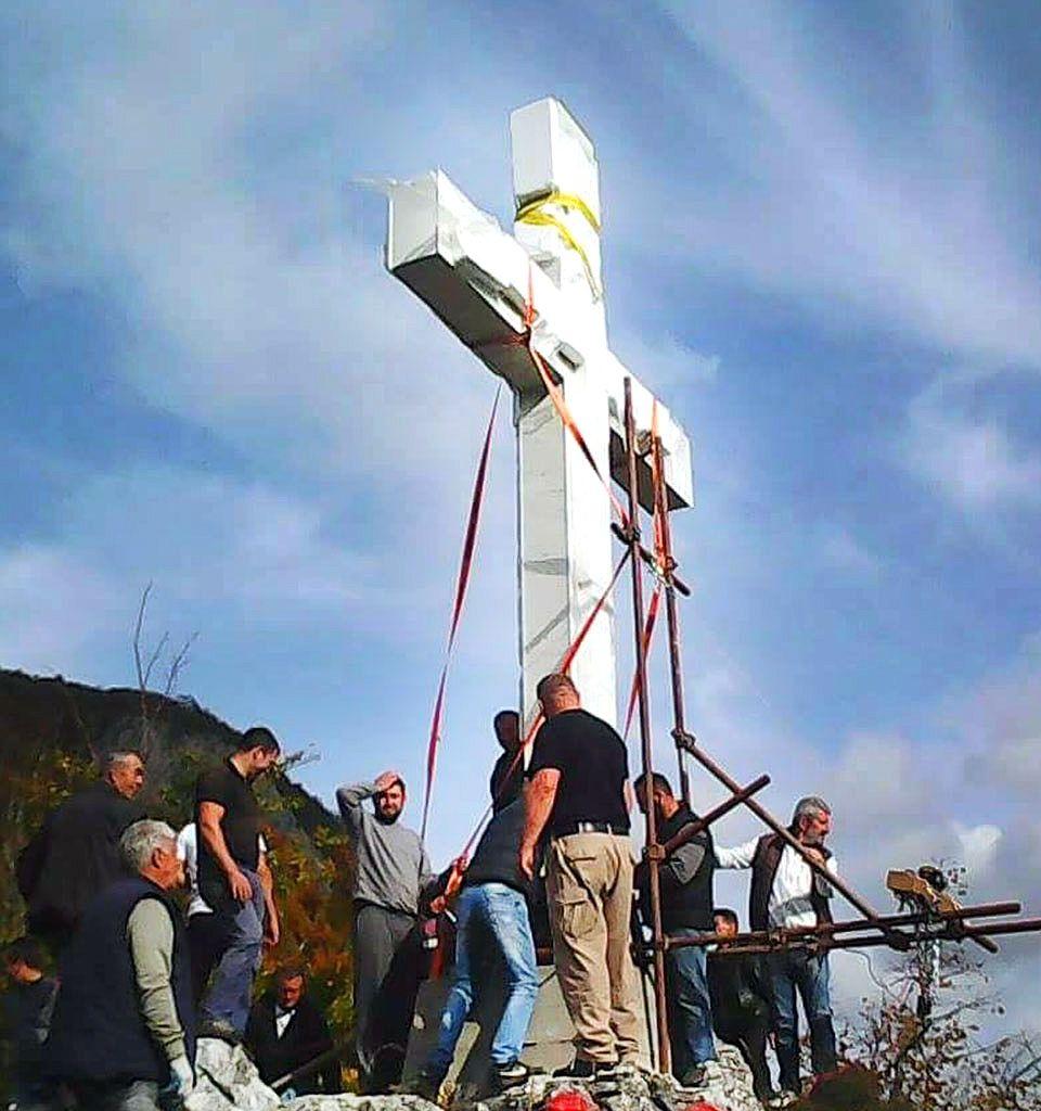 Крст на Балтића стени