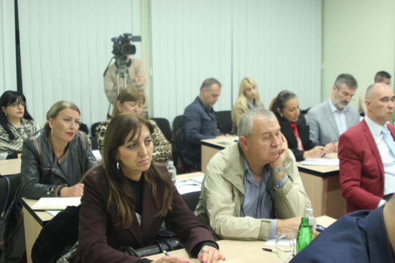 Новинари Гордана Рајичић (ТВ Лав) и Раде Марковић из Пожеге, фото: Глас западне Србије