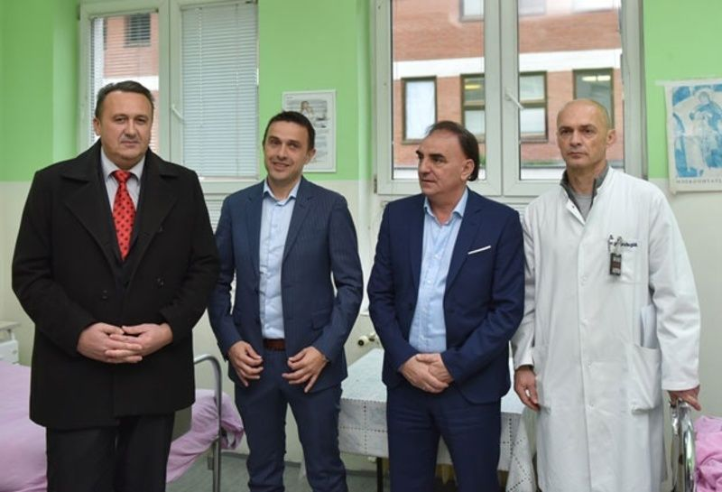 Станко Кијановић, Немања Романдић, др Милош Божовић и др Зоран Дробњак
