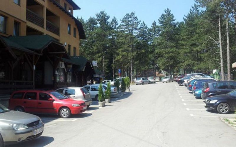 Златибор - паркинг