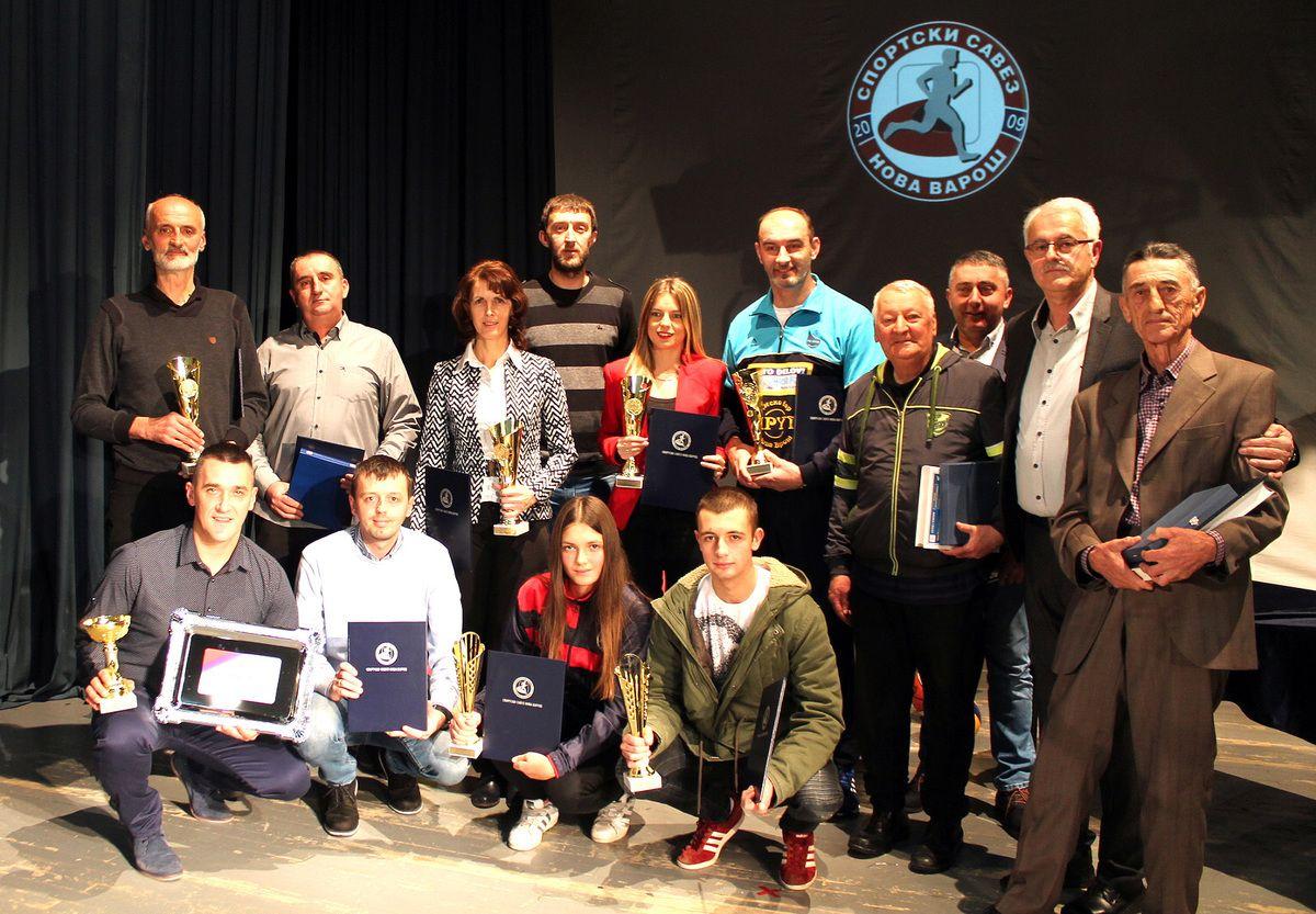 Dodela nagrada sportistima