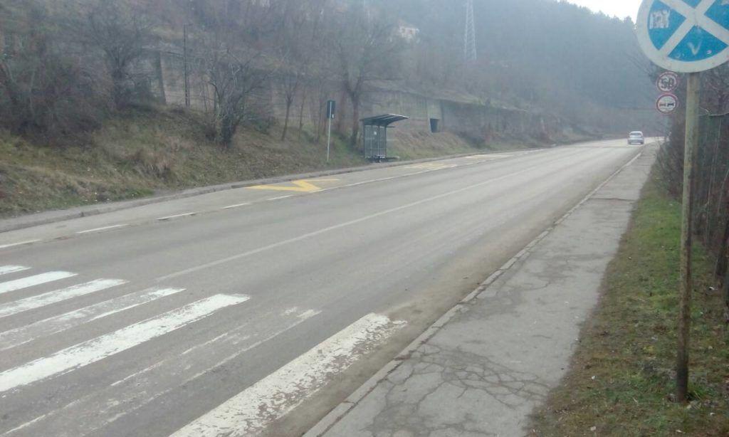 Пешачки прелаз где је С.М. оборена