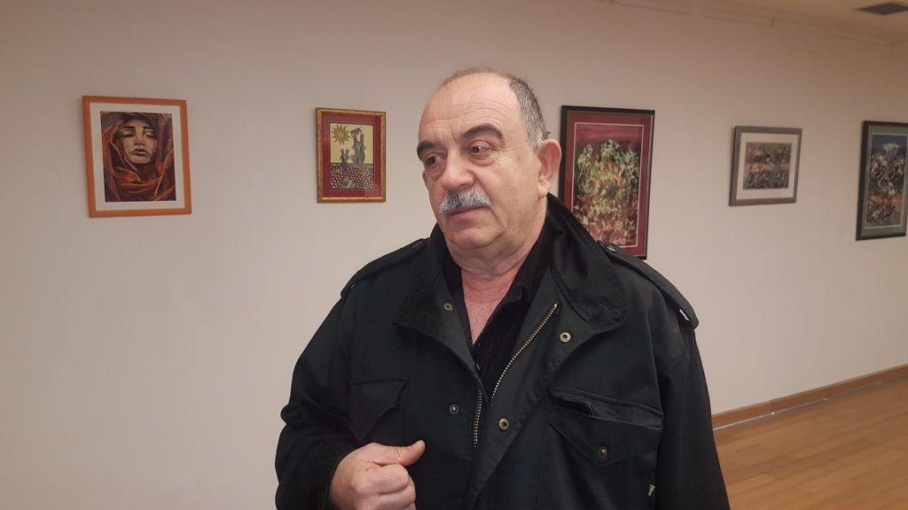 Председник Ликовног клуба, Златарска палета,  Нова Варош Мухамед Ровчанин