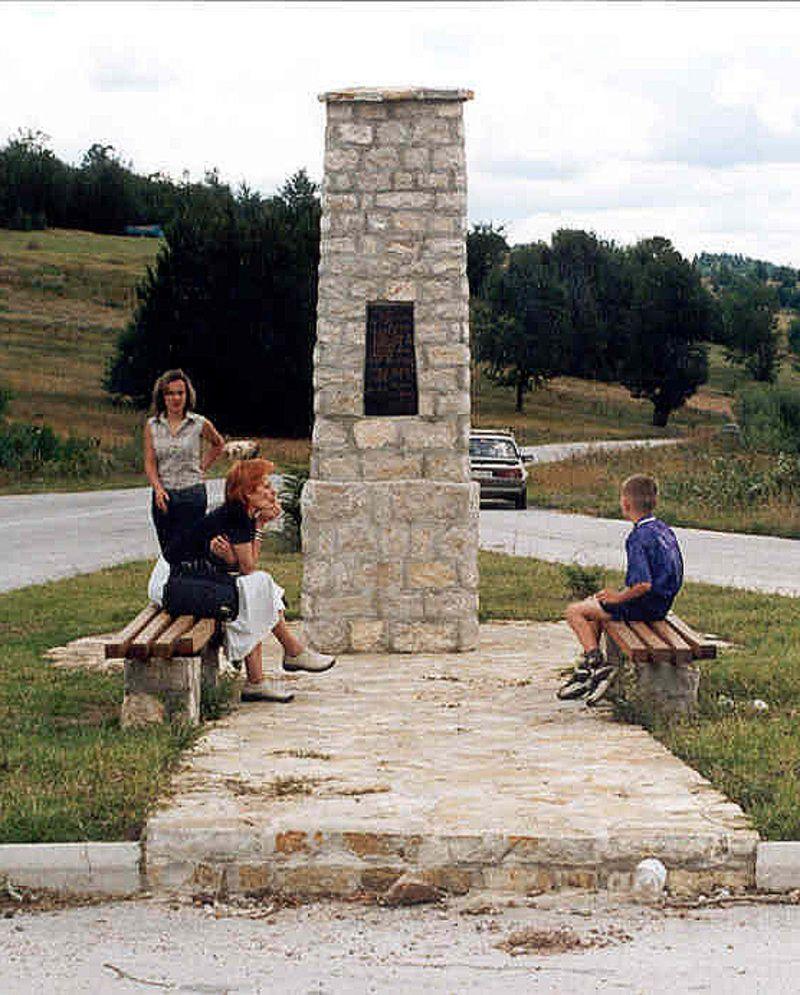 Белег ратницима крај јаворских путева - Нововарошки крај у Великом рату