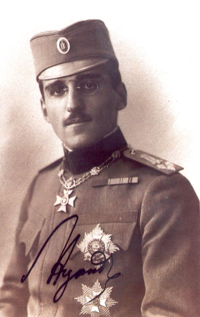 Kраљ Александар Карађорђевић - Нововарошки крај у Великом рату