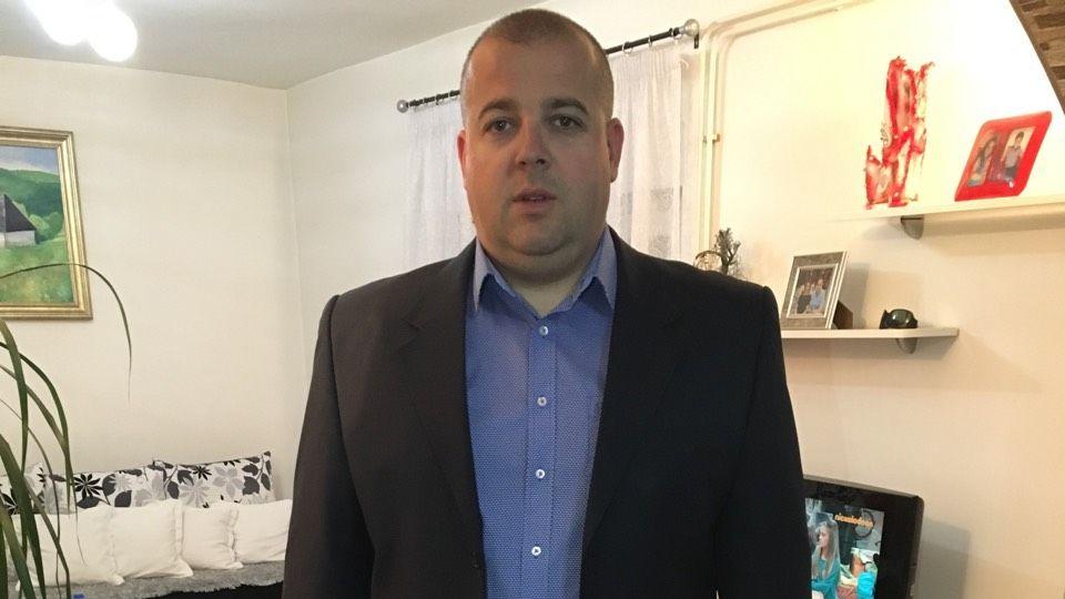 Алмедин Ћатић директор предузећа Алфа транс доо