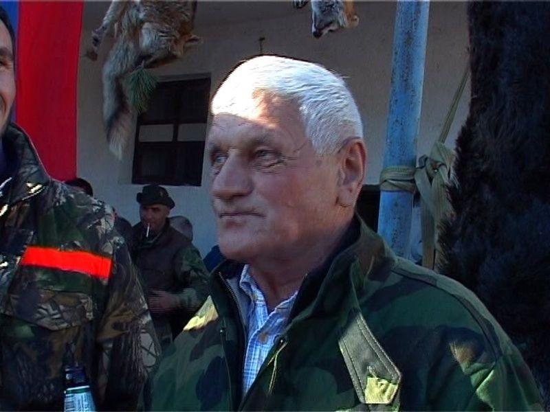 Најстарији ловaц Милојко Колашинац, фото: Принтскрин