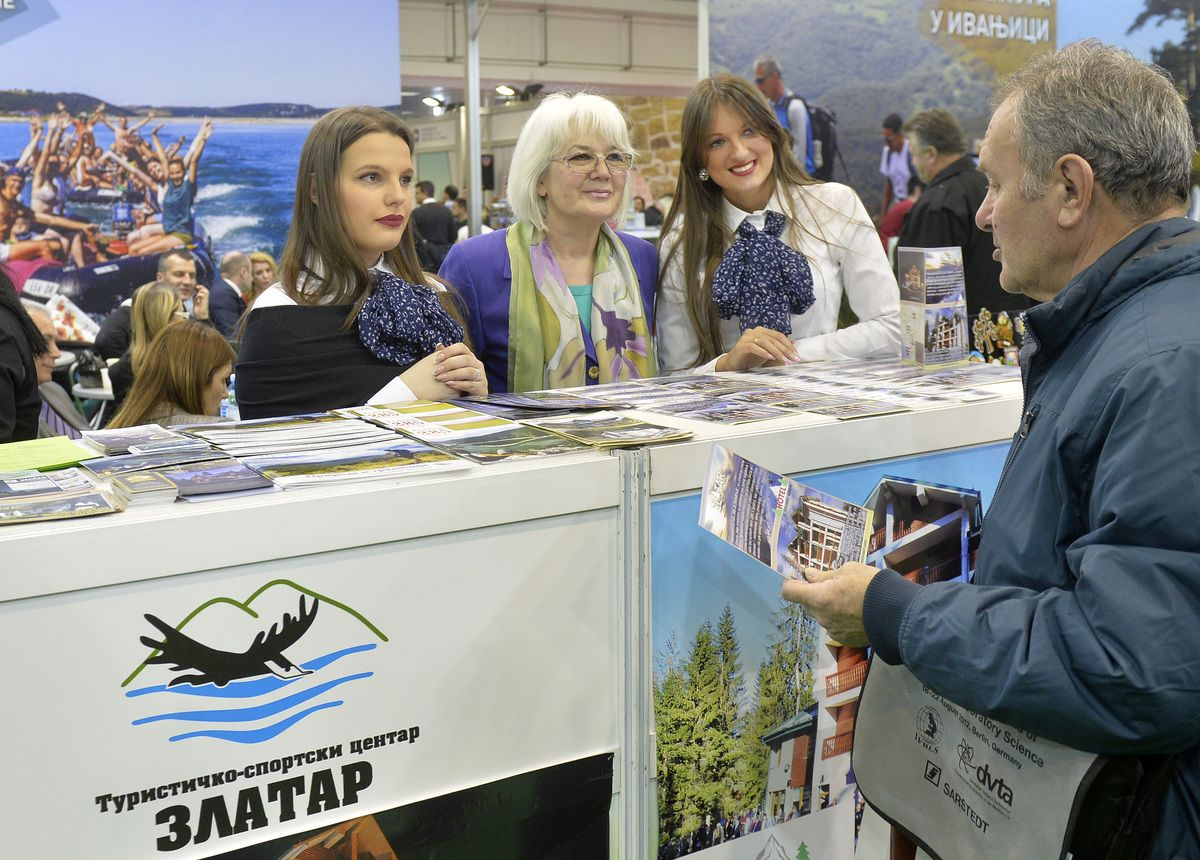 Са штанда Нововарошана на 40. међународном сајму туризма