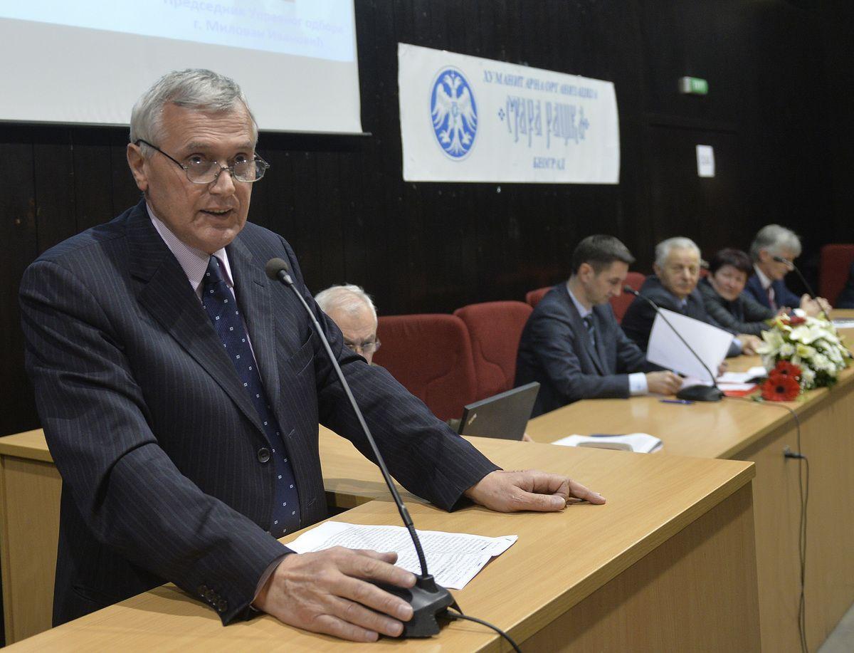 Милован Ивановић, председник Управног одбора ХО  Стара Рашка
