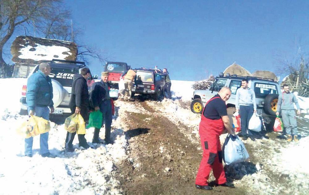 Од хуманих људи помоћ стигла породици Бојовић