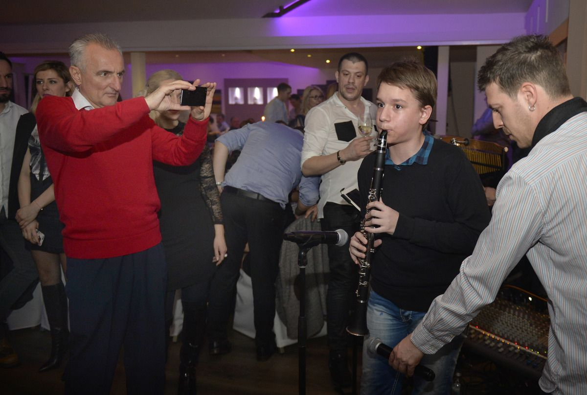 Забава Нововарошана у Београду - Лука Марковић