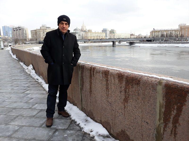 Зоран Шапоњић у Москви