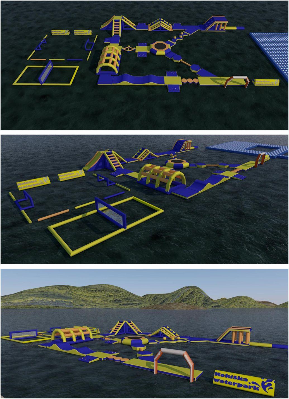 Идејно решење за Аква парк на Златарском језеру