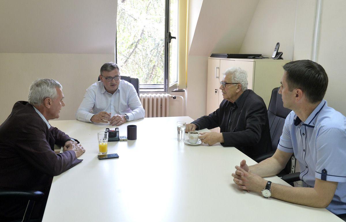 Делегација Старе Рашке у разговору са г. Дробњаком