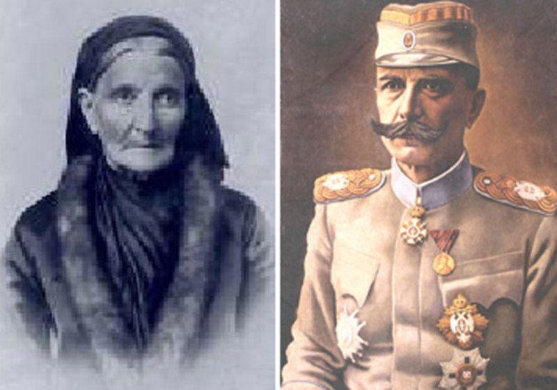 Рада, мајка војводе Бојовића, Војвода Петар Бојовић