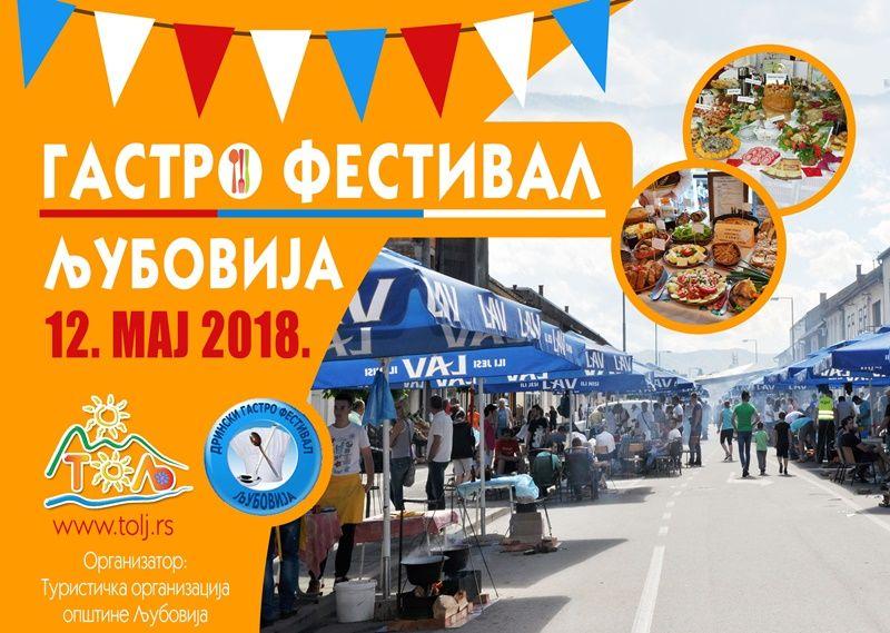 Гастро фестивал у Љубовији