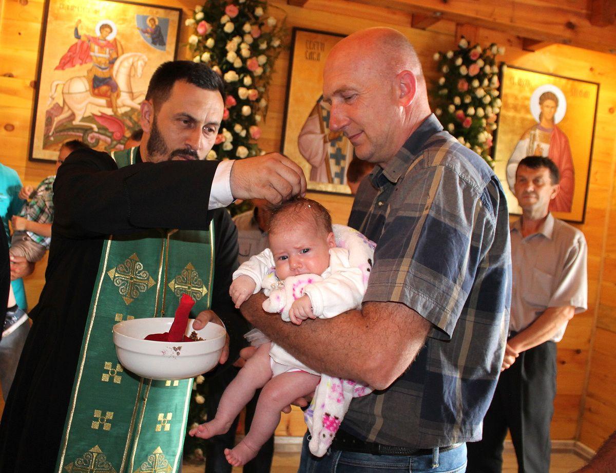 Крштење на Треће Тројице, сеоску заветину