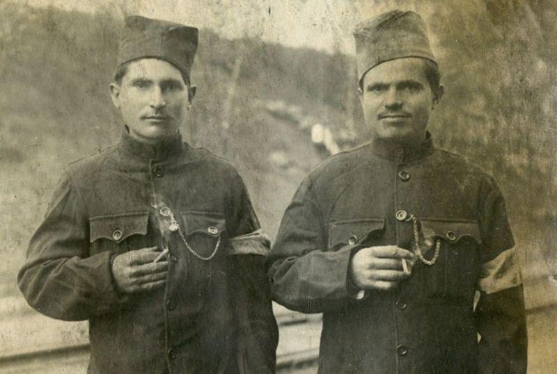 Војници из Трудова у Дрездену