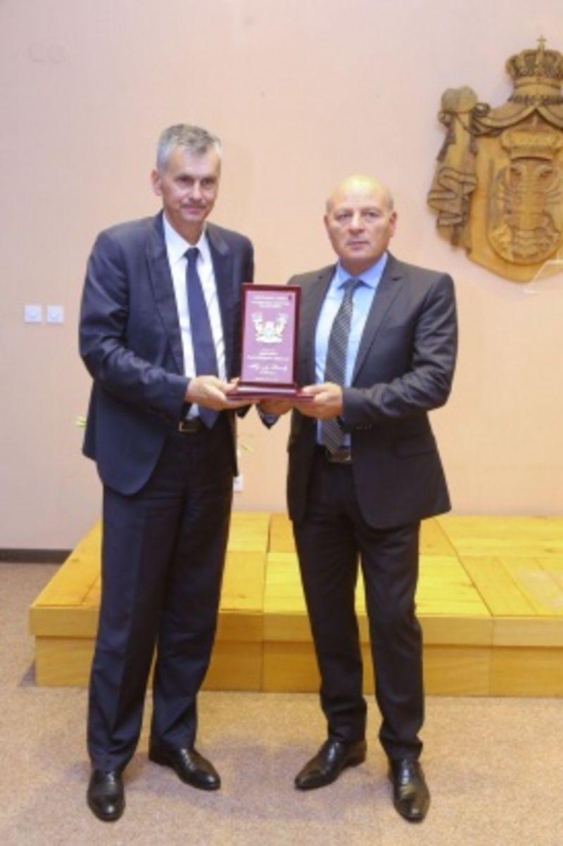 Мирољуб Алексић и Милан Стаматовић