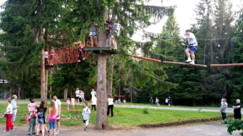 Адреналин парк на Златару