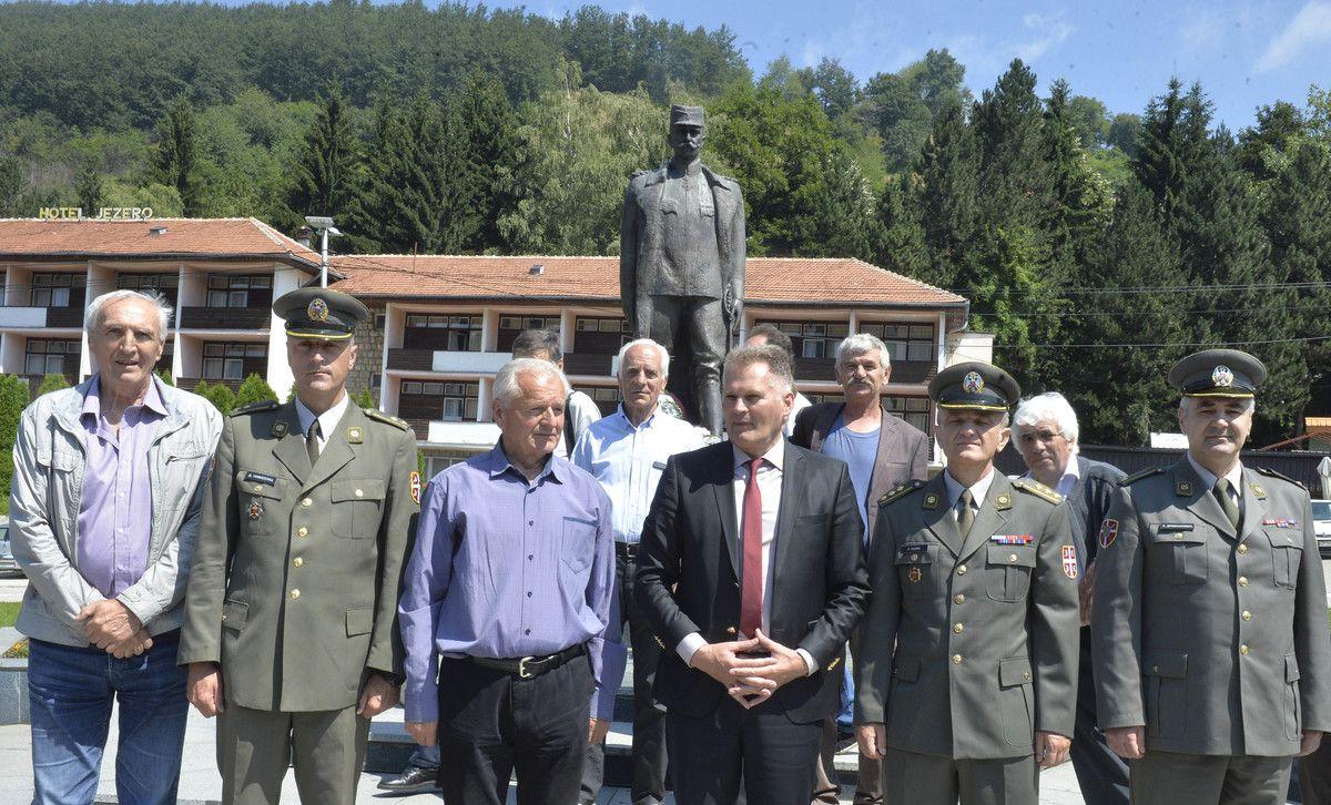 У част војводи Бојовић