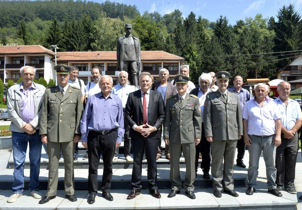 Војска Србије дала значајан допринос у Мишевићима,  као и учешћем на светковинама