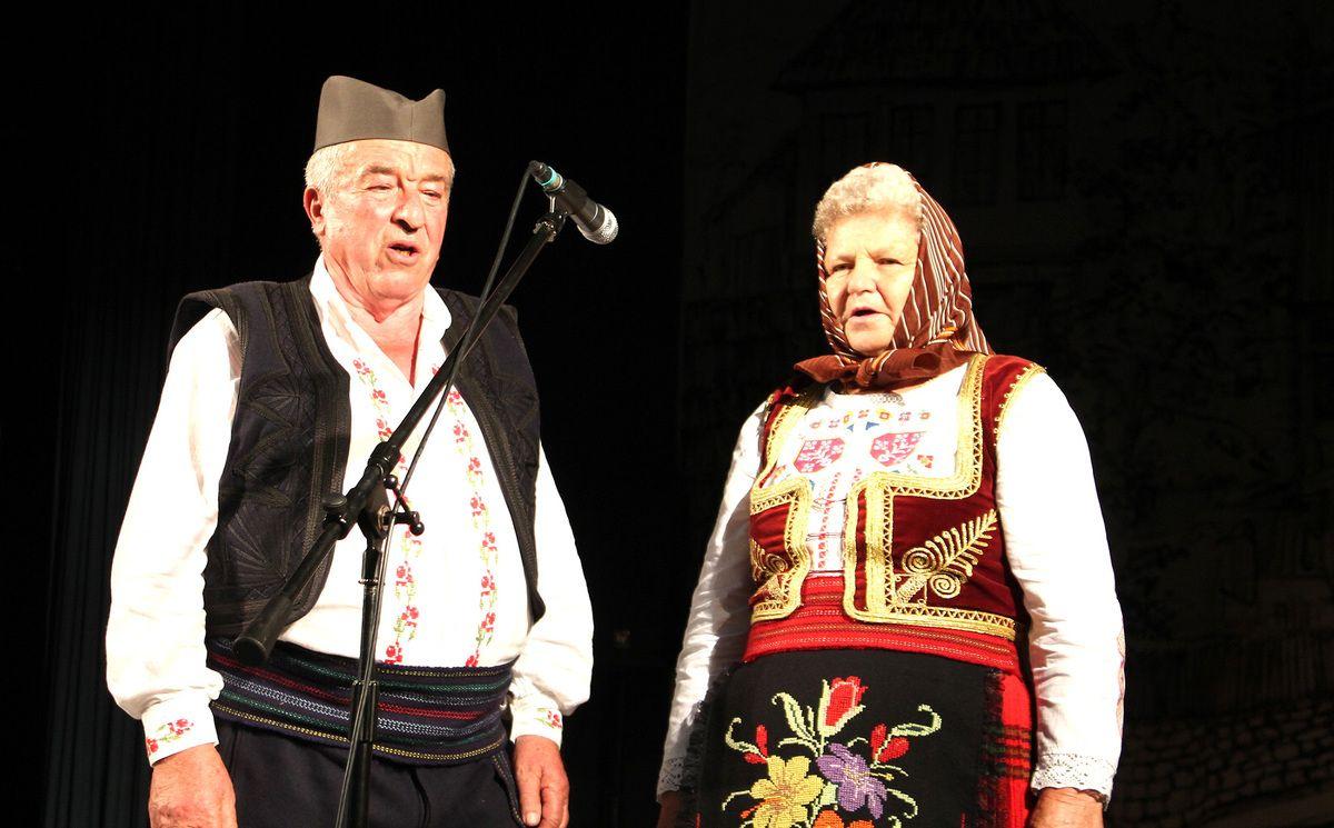 Ливадама цвеће вене, Драган Милошевић из Дражевића и Драгица Жунић из Ариља