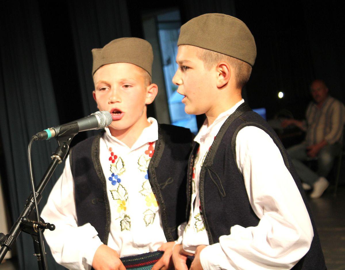 Најмлађи певачи, Милош и Марко Недић