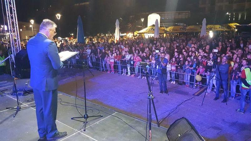 Радосав Васиљевић, председник општине Нова Варош на отварању Златарфеста 2018
