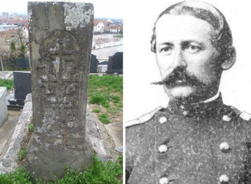 Споменик Јеврему Вукосављевићу  у Чачку чека на уређење