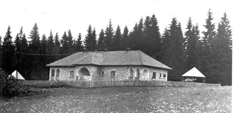 Шумарска кућа на Воденој Пољани пре реновирања