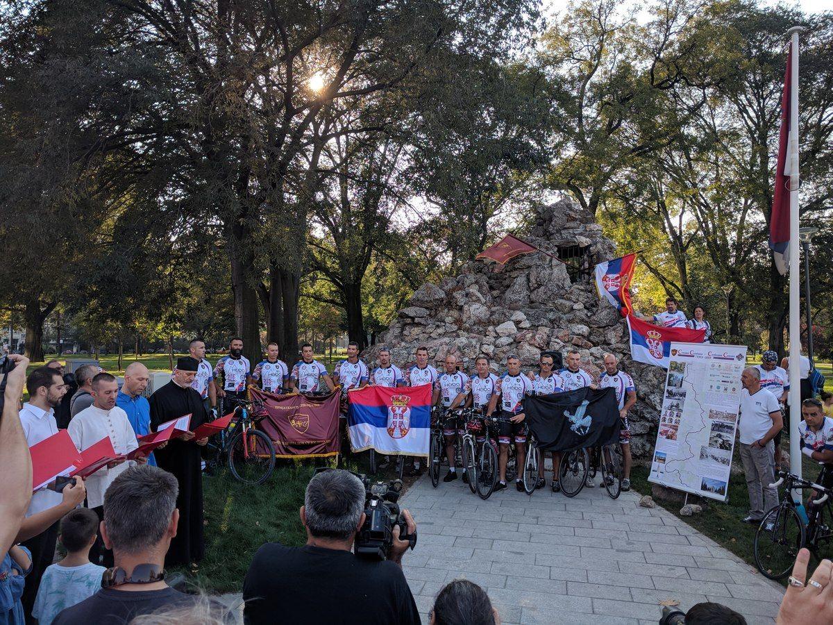Бициклом прешли 1.000 километара у част Солунаца