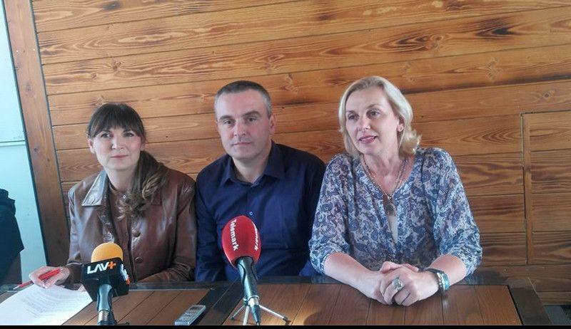 Представници Уније синдиката просветних радника Србије