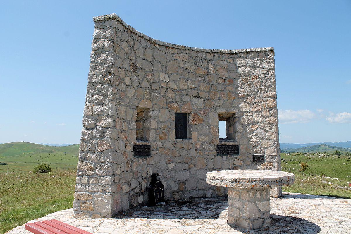 Осматрачница, споменик на Молитви у Љепојевићима