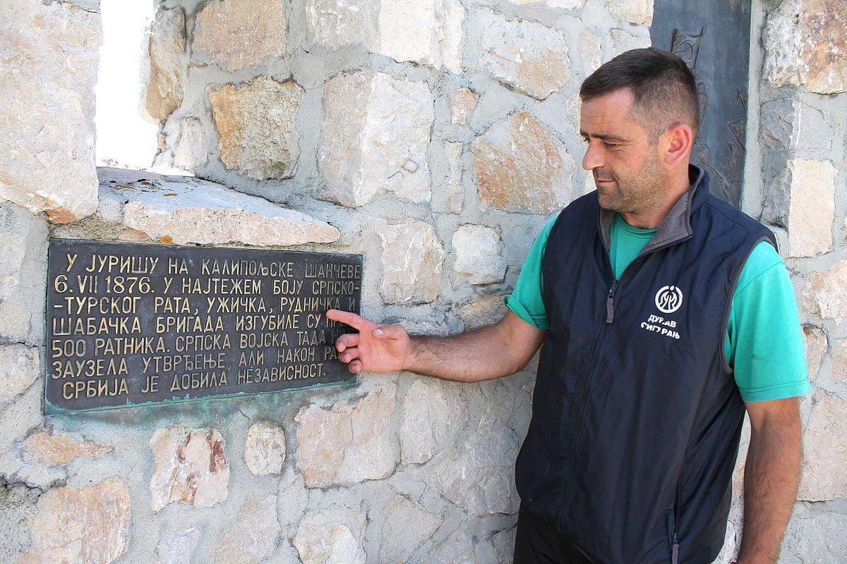 Споменик у Калипољу сведочи о 500 палих ратника три бригаде  Српске  војске