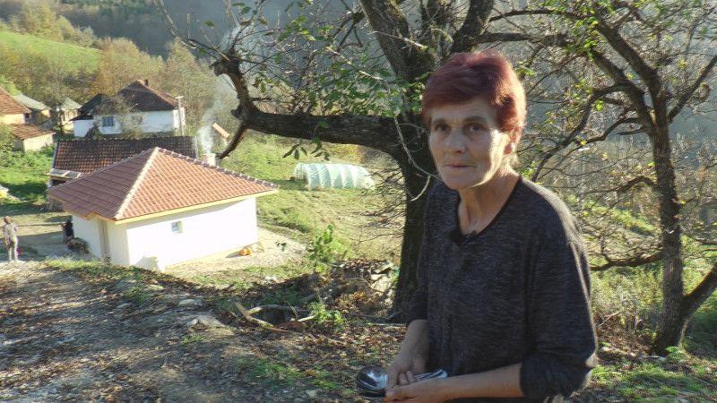 Жена херој, Јованка Маричић, комшиница која се бринула о Радосаву свих ових месеци, фото: ГЗС