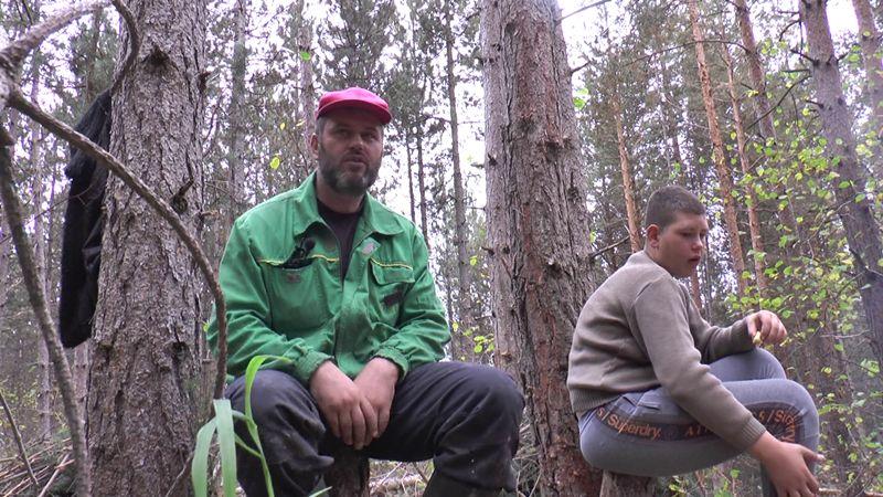 Милијан Лаковић већ 20 година ради у шуми