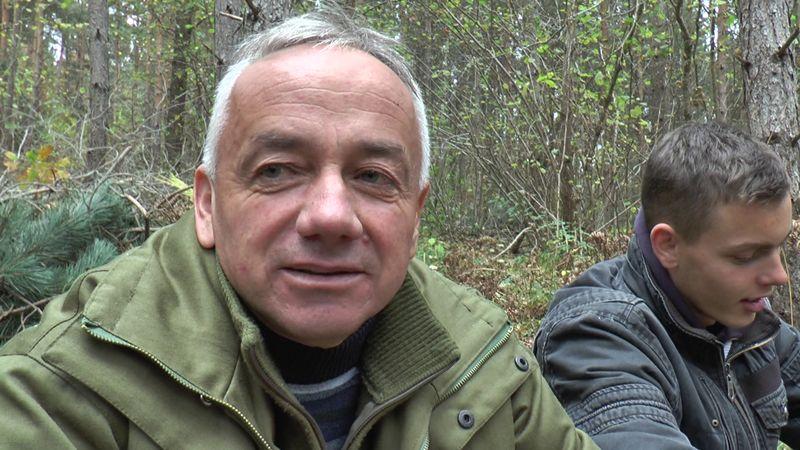 Шумар Радован Шиљковић, никада није имао млађе дрвосече