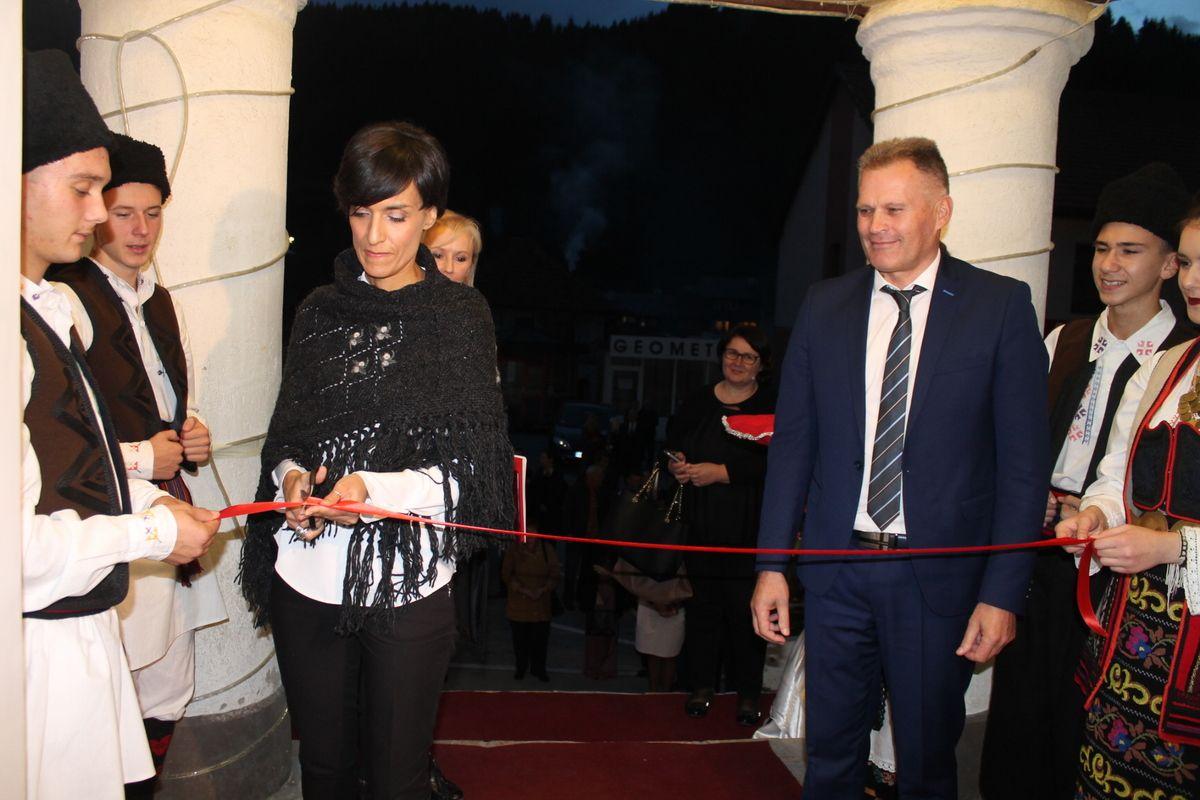 Свечано отварање, Данијела Ванушић и Радосав Васиљевић